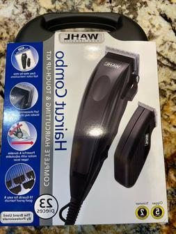 New WAHL Haircut Combo Hair Trimmer Clipper Set 23 Piece FAS