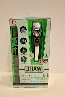 New WAHL Lithium Ion All In One Trimmer Model 9888-600