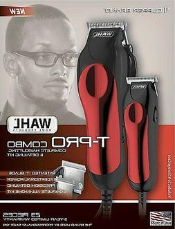 New! Wahl Professional Hair Clipper Kit 23 Piece Barber Pro