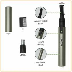 Nose Ear Trimmer Neck Hair Eyebrow Groomer Clippers Wahl Mic
