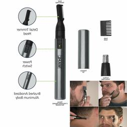 Wahl Nose Ear Trimmer Neck Hair Eyebrow Groomer Clippers Mic
