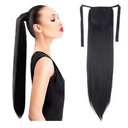 Haironline One Piece Tie Up Ponytail Clip in Hair Extensions