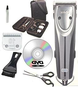 Oster 2-Speed Outlaw Dog Animal Clipper With Case,DVD,Shears