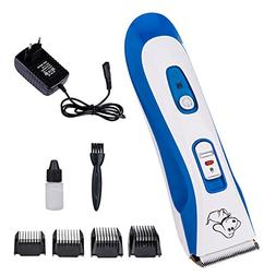 Pet Dog Professional Animal Hair Clipper Trimmer Blue Waterp