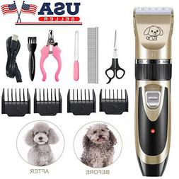 Pet Dog Cat Clippers Grooming Hair Trimmer Groomer Shaver Ra