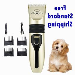 Pet Dog Cat Grooming Clippers Hair Trimmer Groomer Quiet Cor