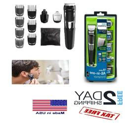 Philips Norelco Rechargeable Grooming Kit Beard Nose Ear Hai