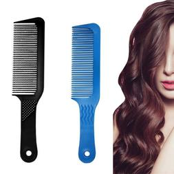 Pro Hair Clipper Comb Barber Stylist Flat Top Brush Cutting