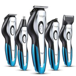 Pro Rechargeable Electric Low Noise Hair Clipper Trimmer Sha