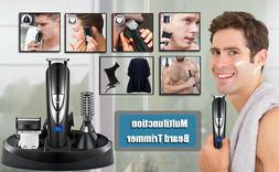 Professional Cordless Hair Clippers Beard Trimmer Cutting Wi