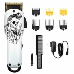 Professional Cordless Hair Clippers for Men BESTBOMG Recharg
