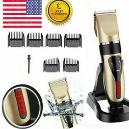 Professional Cordless Hair Trimmer Set Hair Removal Tool Hai