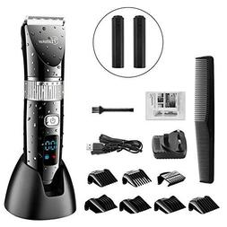 Hatteker Professional Hair Clipper Cordless Clippers Hair Tr