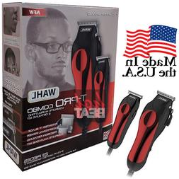 Wahl Professional Hair Clipper Kit 23 pcs Barber Pro Set 791