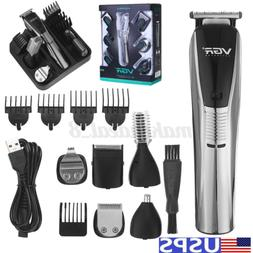 Professional Hair Clippers Beard Trimmer Electric Cordless S