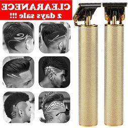 Professional Hair Clippers Mens USB Electric Trimmers Cordle