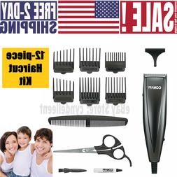 Professional Tools Grooming Barber Set Home Hair Cutting Kit