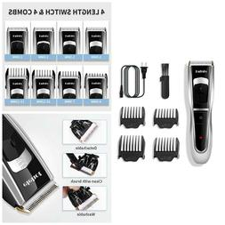 Professional Wireless Cordless Hair Trimmer Mens Rechargeabl