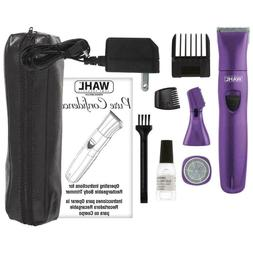 Wahl Pure Confidence Ladies Rechargeable Trimmer Purple Comp