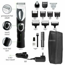 Wahl Rechargeable Beard Mustache Trimmer Ear Nose Hair Clipp