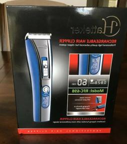 Hatteker Rechargeable hair clipper Model: RFC-698 Brand New