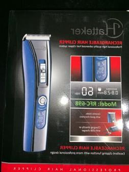 Hatteker Rechargeable Hair Clipper RFC-698, Brand New In Box