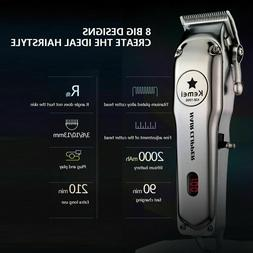 KEMEI Rechargeable Hair Clippers Cordless Barber's Trimmer G