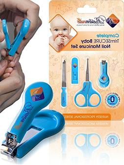 #1 Safety Baby Nail Clippers Set with Scissors and File, Com