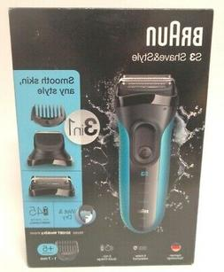 Braun Series 3 3010BT Men's Beard Trimmer/Hair Clipper Razor