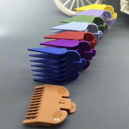 8pcs Kit Limit Combs Hair Cutting Clipper Guide Tools Barber