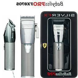 Babyliss PRO SILVER MetalFX Cord/Cordless Lithium-Ion Adjust