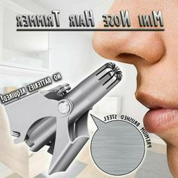 Stainless Mini Manual Nose Hair Removal Clipper Trimmer Shav