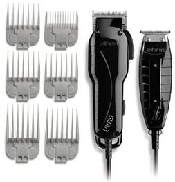 Andis Professional Stylist Clipper and Trimmer Combo Kit, Hi