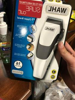 Wahl Sure Cut Clippers Hair Trimmer Clipper Kit  **FAST SHIP
