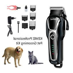 US Electric Animal Pet Dog Cat Hair Trimmer Shaver Razor Gro