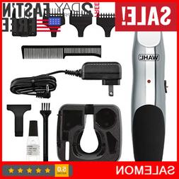 Wahl RECHARGEABLE Hair Clippers Beard Moustache Cordless Tri